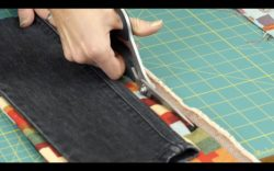 DIY_DENIM_CUTTING FABRIC