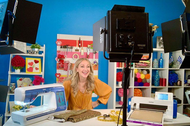 Peek inside Jane's craft room