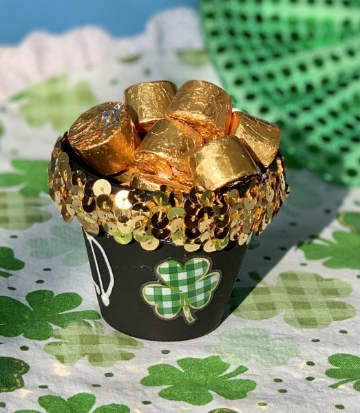 Pot of Gold Craft with candy
