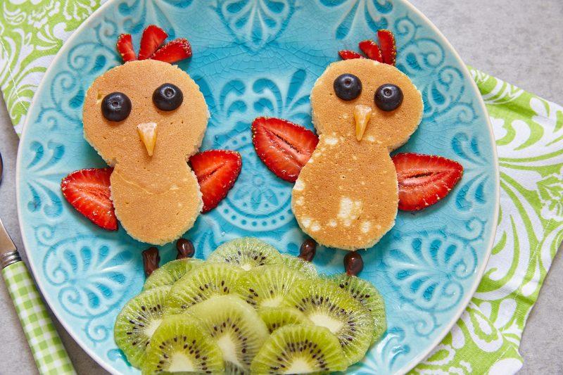 Animal Shaped Pancakes