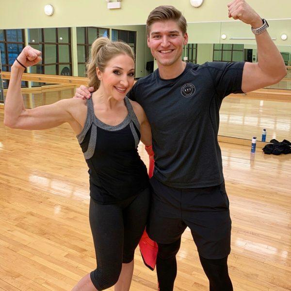 Jane with Trainer Austin Head
