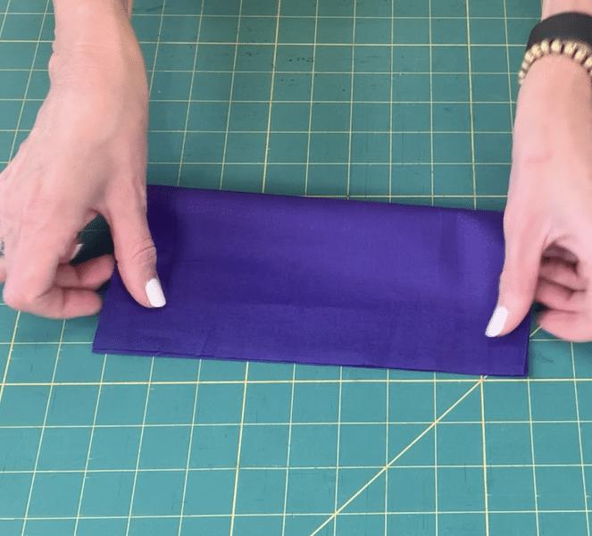 Folding Fabric 1st time