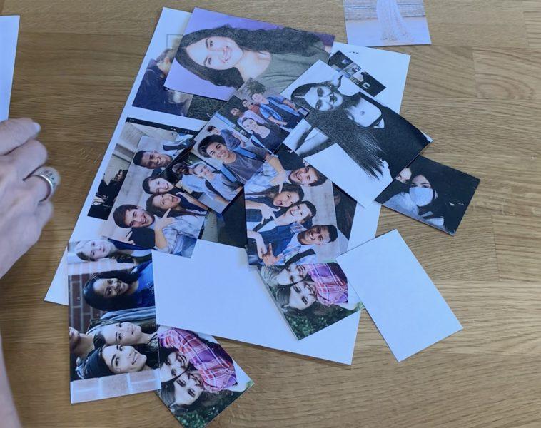 Laser printed color photos