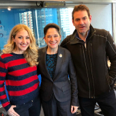 Chicago Mayoral Candidate Susana Mendoza on WGN's Pete & Jane Show January 27, 2019
